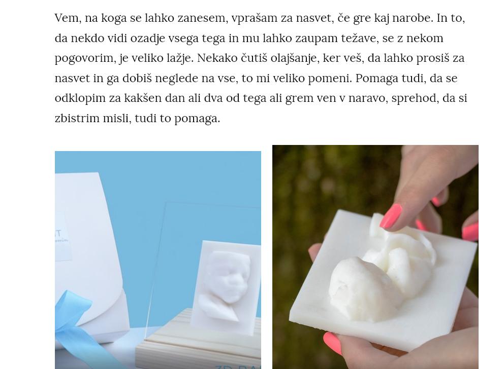 3D BABY PRINT INTERVJU Z MAMINA DLAN